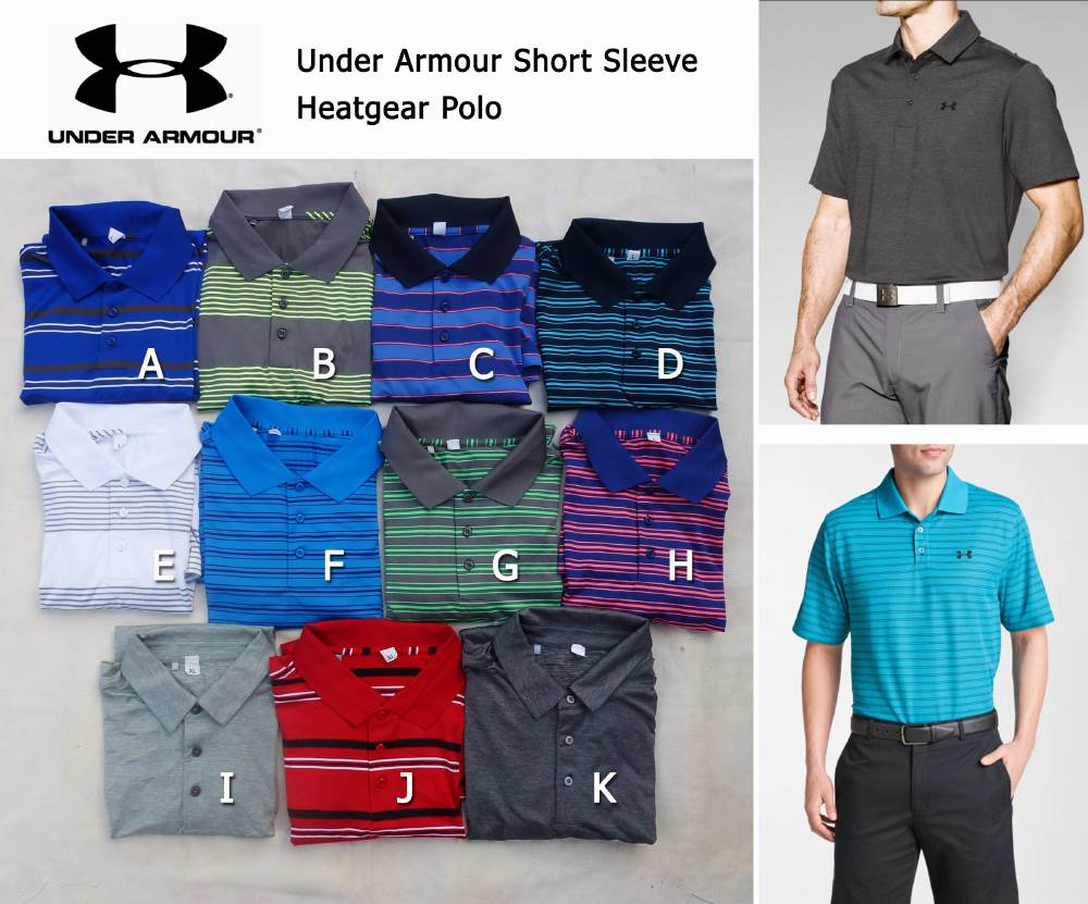 Under Armour Short Sleeve Heatgear Polo