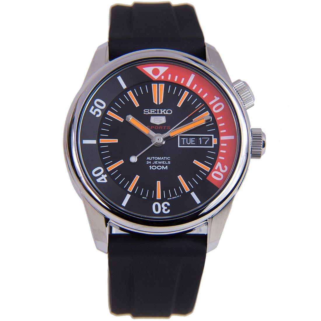 นาฬิกาผู้ชาย Seiko 5 Sport รุ่น SRPB31K1 Automatic Men's Watch