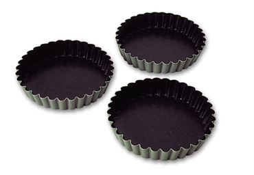 Matfer exopan fluted tart mould 80*12 mm (332655)