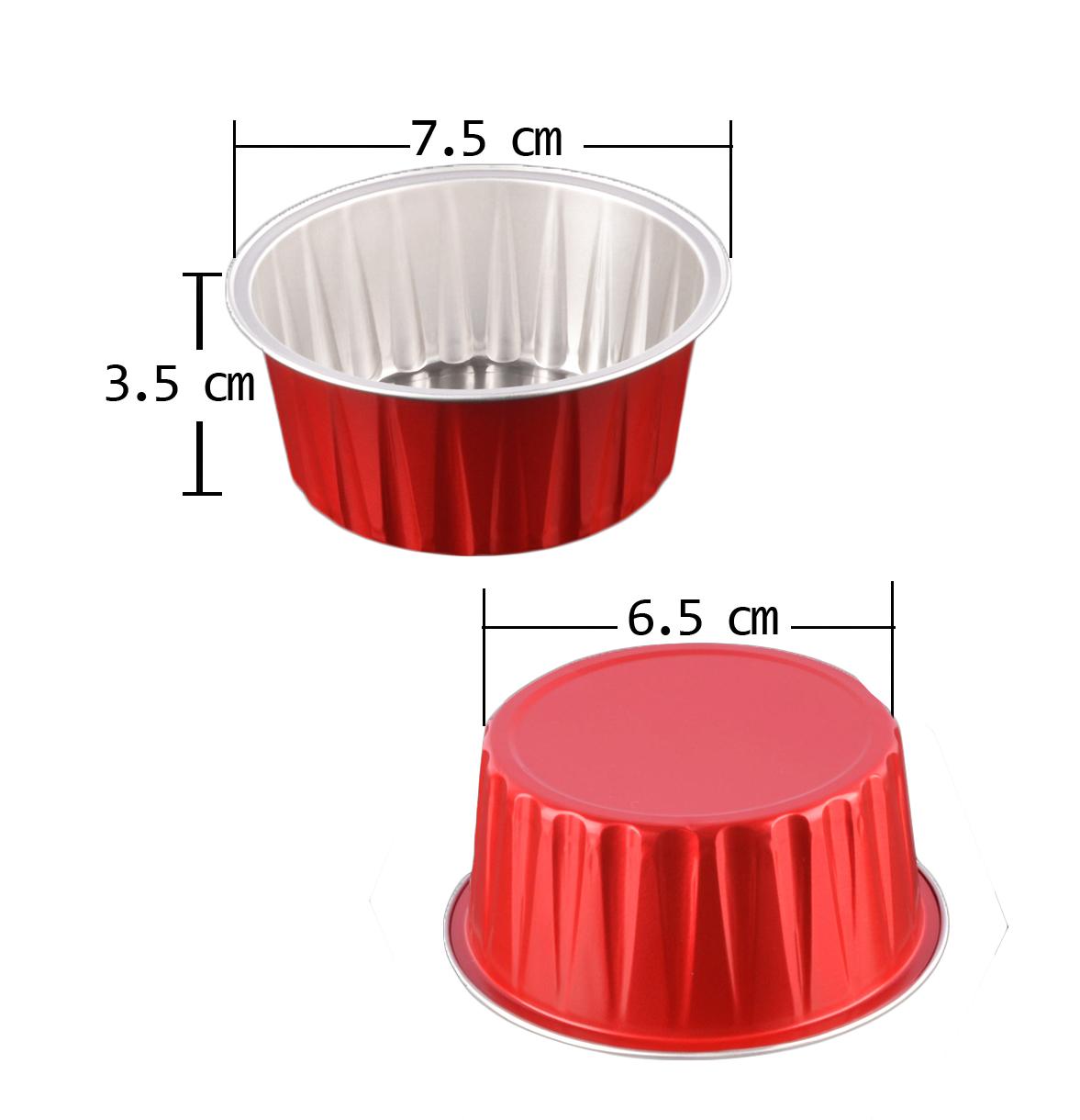 ถ้วยฟอยล์ 900-AP125A 100 ชิ้น คละสี