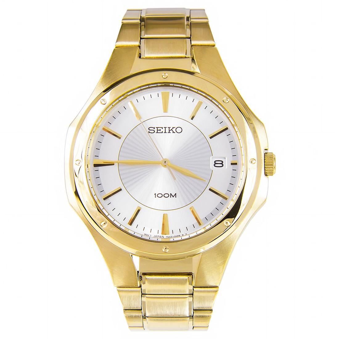 นาฬิกา SEIKO ควอทซ์ Gent SGEF64P1