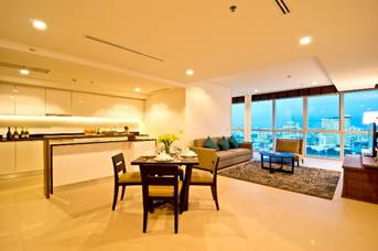 Klapsons The River Residences Bangkok, Two Bedroom (140 sqm.) at THB 100,000 net per month **1 year contract at THB 85,000 net per month** **Ready to move in*