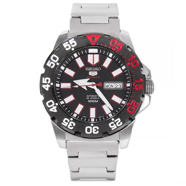 นาฬิกาผู้ชาย Seiko New Mini Monster Automatic Men's Watch รุ่น SRP487K1