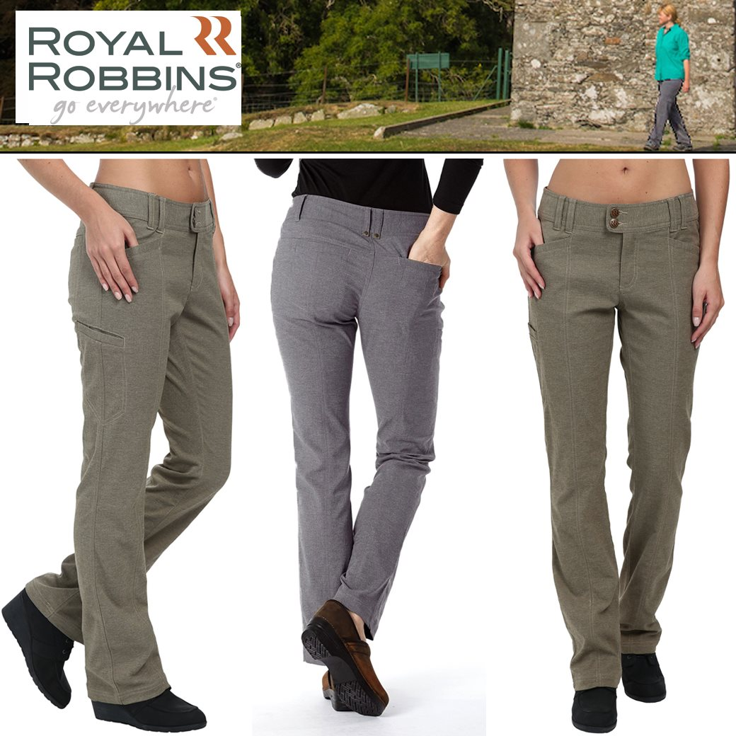 Royal Robbins Women's Herringbone Discovery Pants