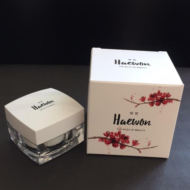 Haewon Double Action Hydro Brightening Water Drop ปริมาณสุทธิ 15 g. ราคา 685 บาท ส่งฟรี