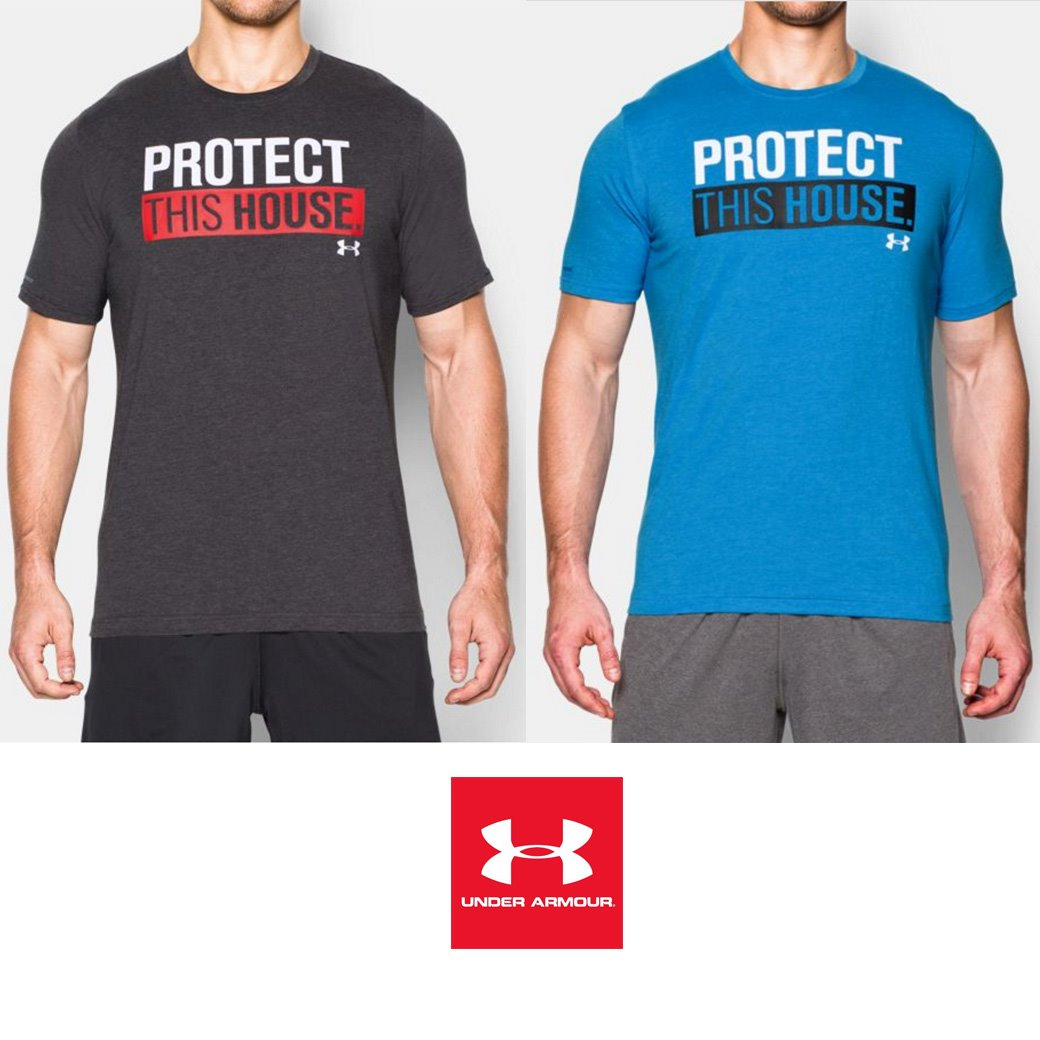 Under Armour This House Protect ( PTH ) T-Shirt