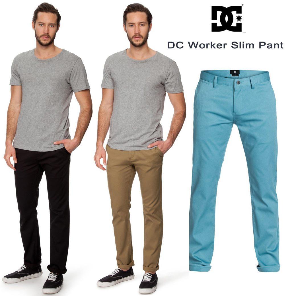DC Worker Slim Pants