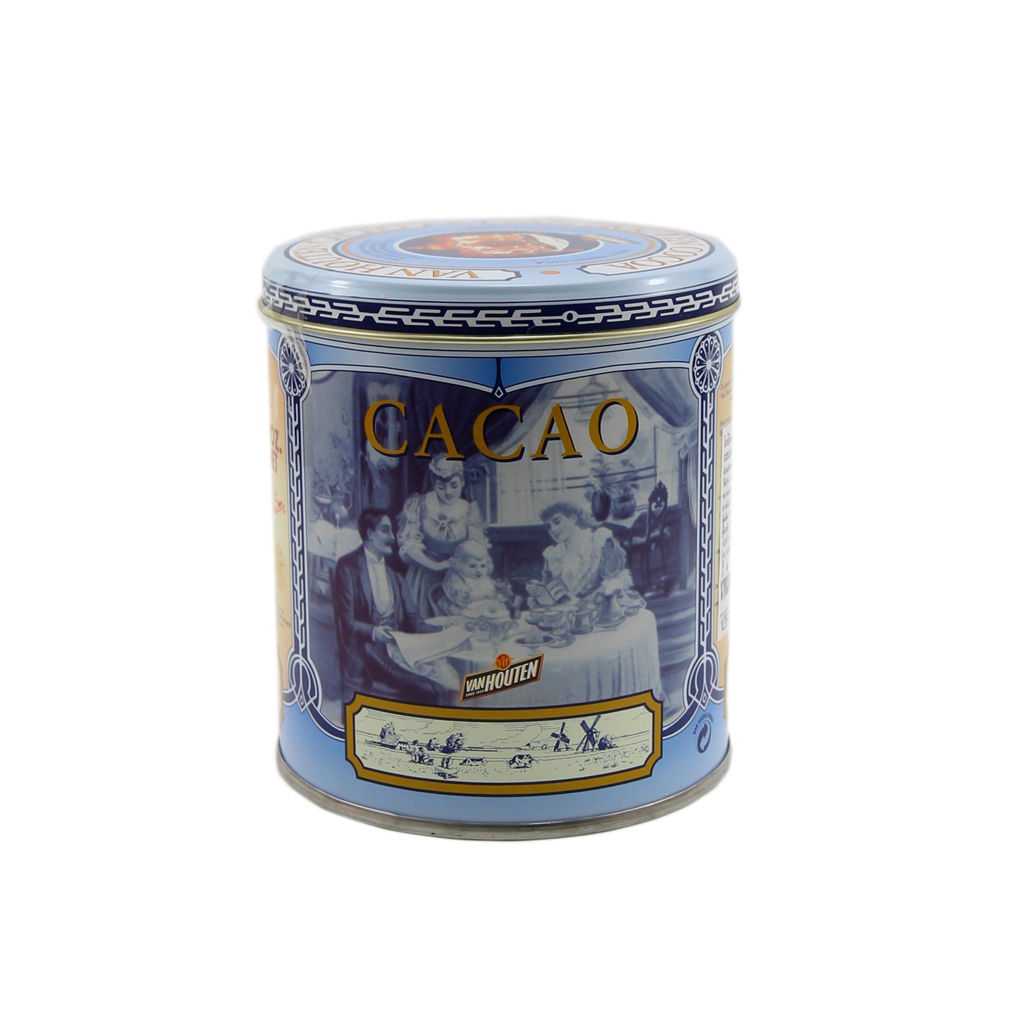 แวนฮูตัน ผงโกโก้ สีฟ้า (Van Houten Cocoa powder ) 250 g