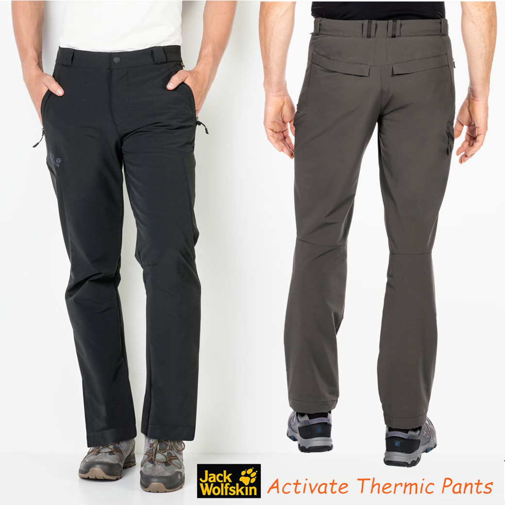 JACK WOLFSKINS ACTIVATE THERMIC PANTS