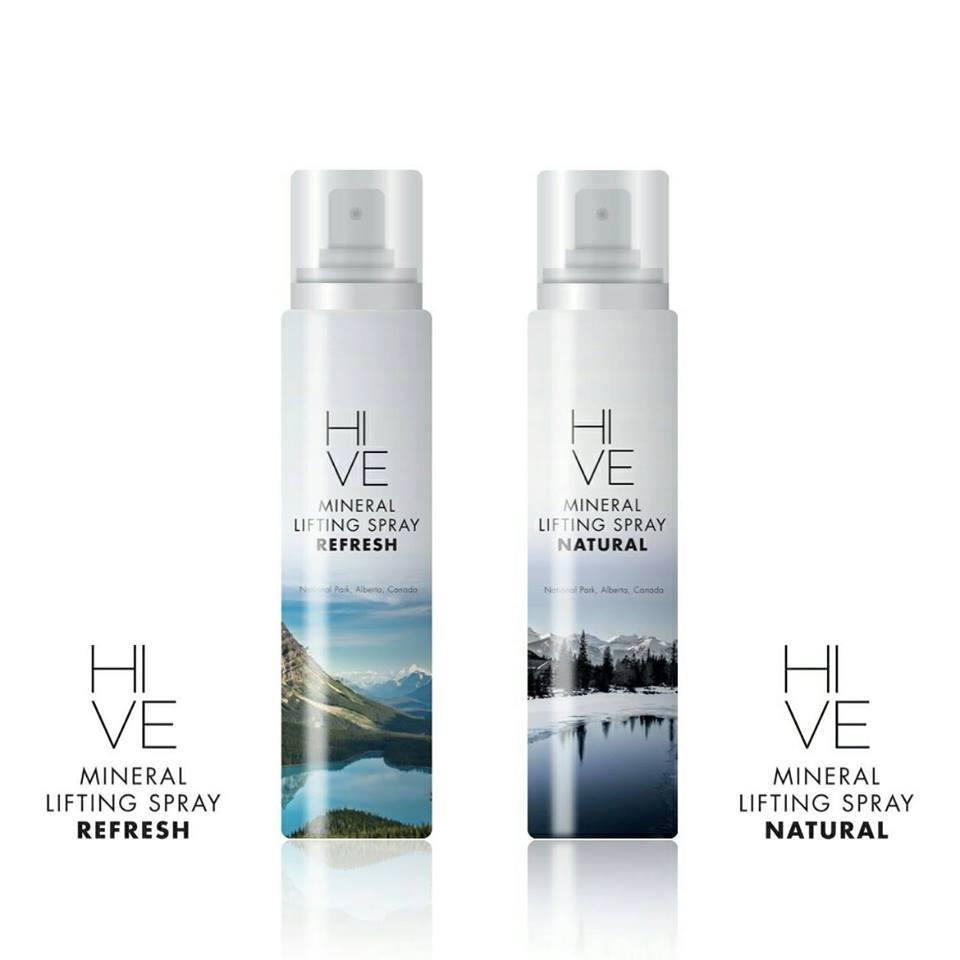 Hive Mineral Lifting Spray Refresh สเปรย์น้ำแร่ยกกระชับผิวหน้า (กลิ่นรีเฟส) 145 ml ราคา 1,500 บาท ส่งฟรี
