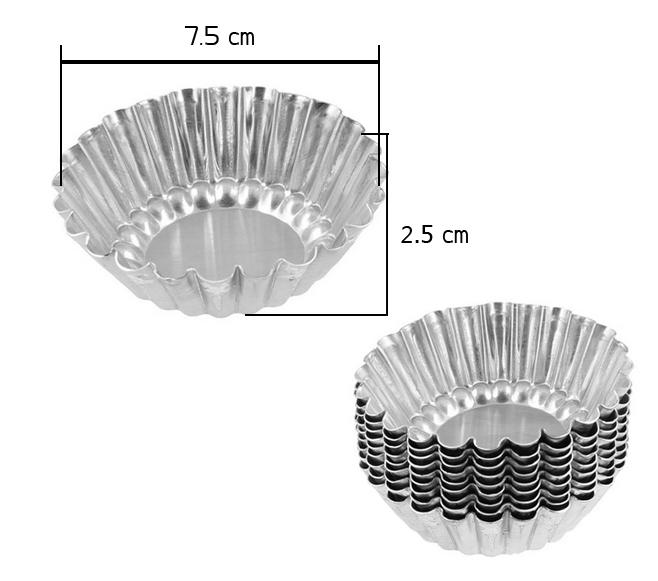 พิมพ์ดอกจอกกลาง 7.5x2 cm TH