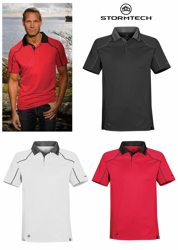 STORMTECH TPS-1 MEN'S CROSSOVER PERFORMANCE POLO