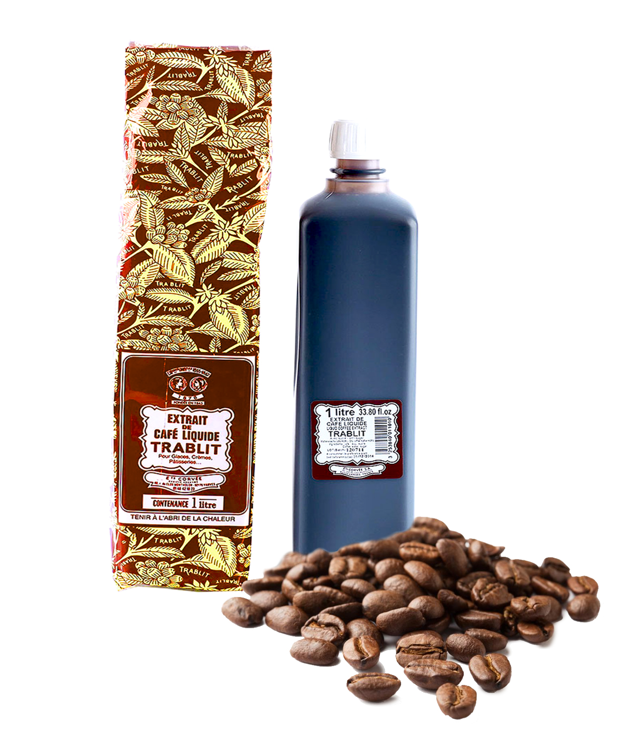 Liquid Coffee Extract Trablit (กลิ่นกาแฟ) (1L)