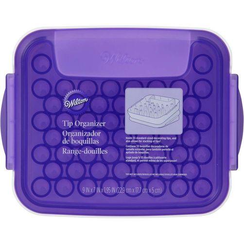 Wilton tip organizer กล่องเก็บหัวบีบ TIP ORGANIZER (405-8784)