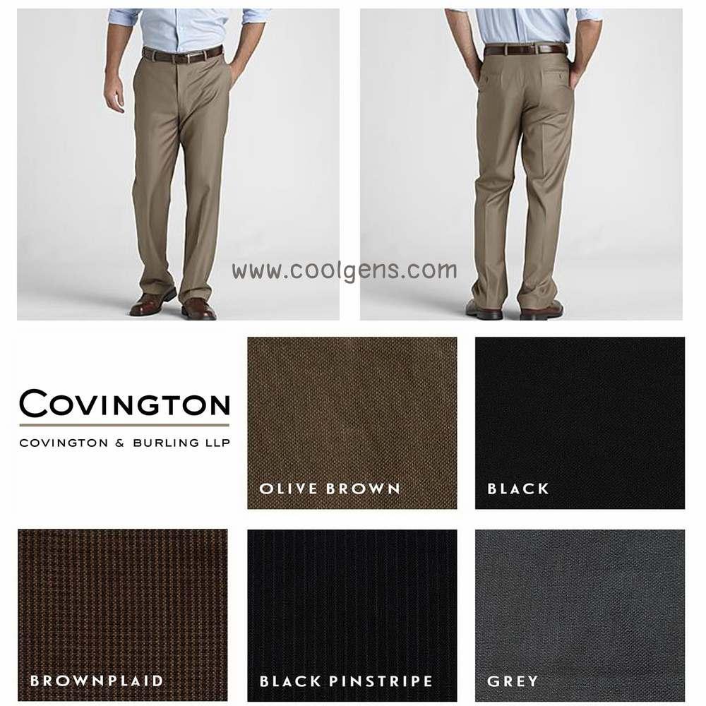 Covington Flat Front Dress Pants