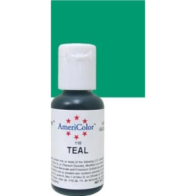 Ameri Color Teal Soft Gel Paste 0.75 oz