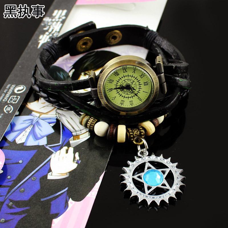 สร้อยข้อมือ นาฬิกา Black Butler