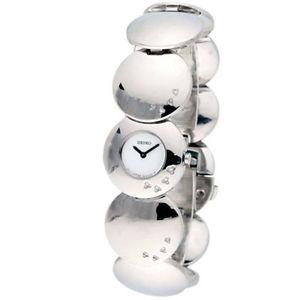 Seiko SUH005P1 Diamonds Silver Steel Bracelet & Case Mineral Women's Watch