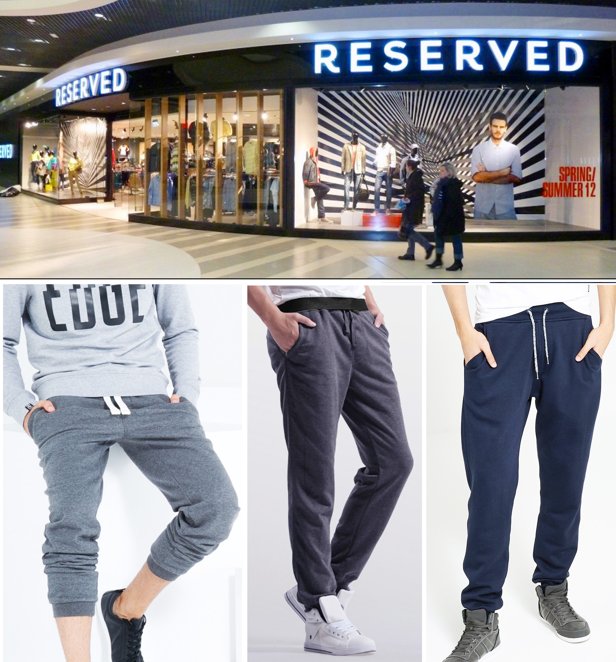 RESERVED SWEATPANTS - มาเพิ่มแล้วจ้าาา (16-08-58)