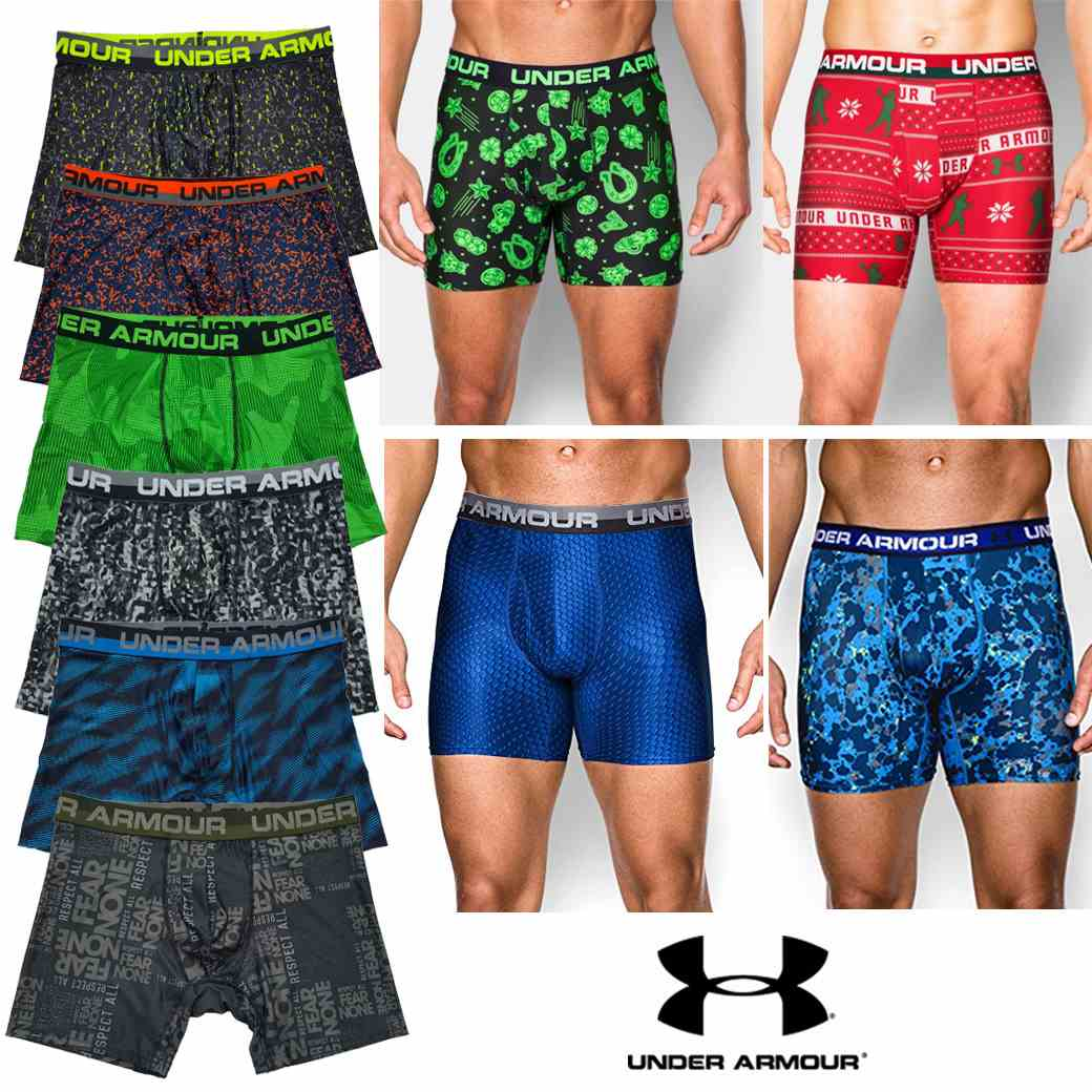 UNDER ARMOUR ORIGINAL SERIES PRINTED BOXERJOCK ( NEW UPDATE )