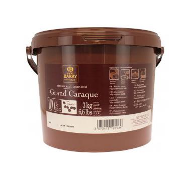 Cacao Barry Grand Caraque 100% (Coco paste) 3Kg