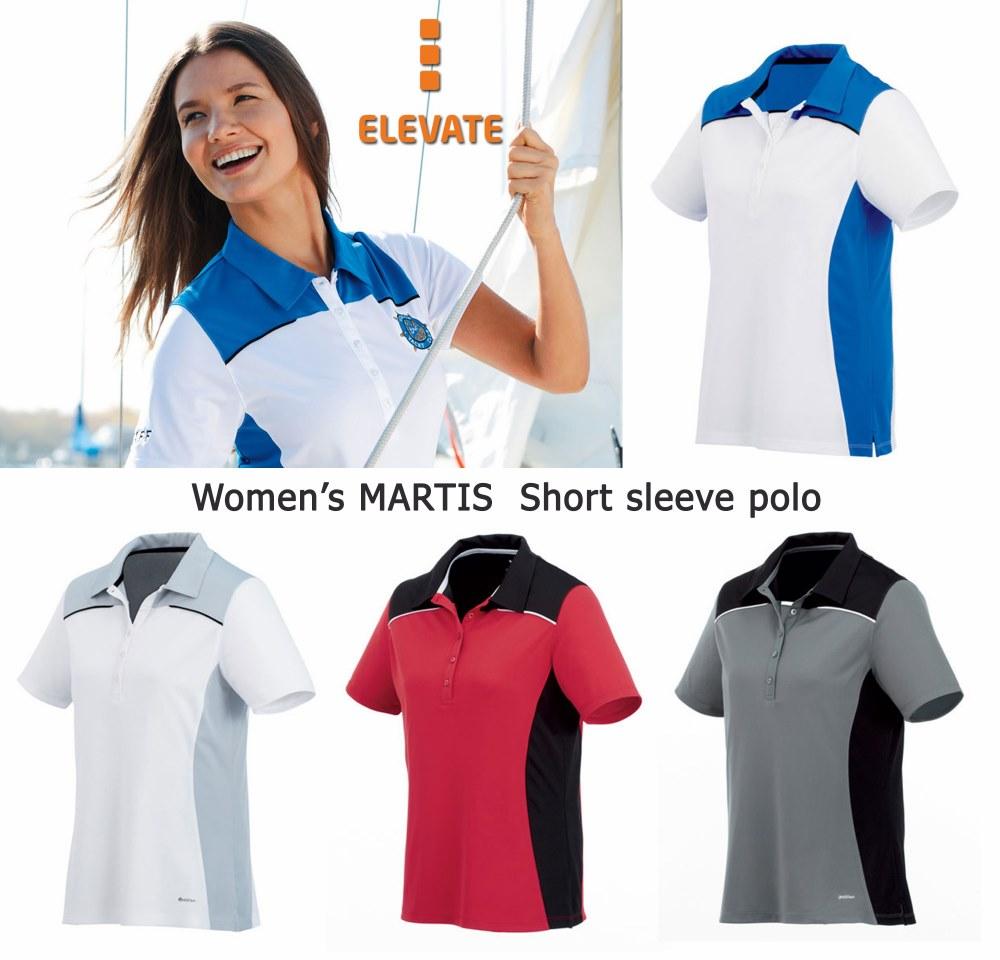 Elevate Women's Martis Short Sleeve Polo