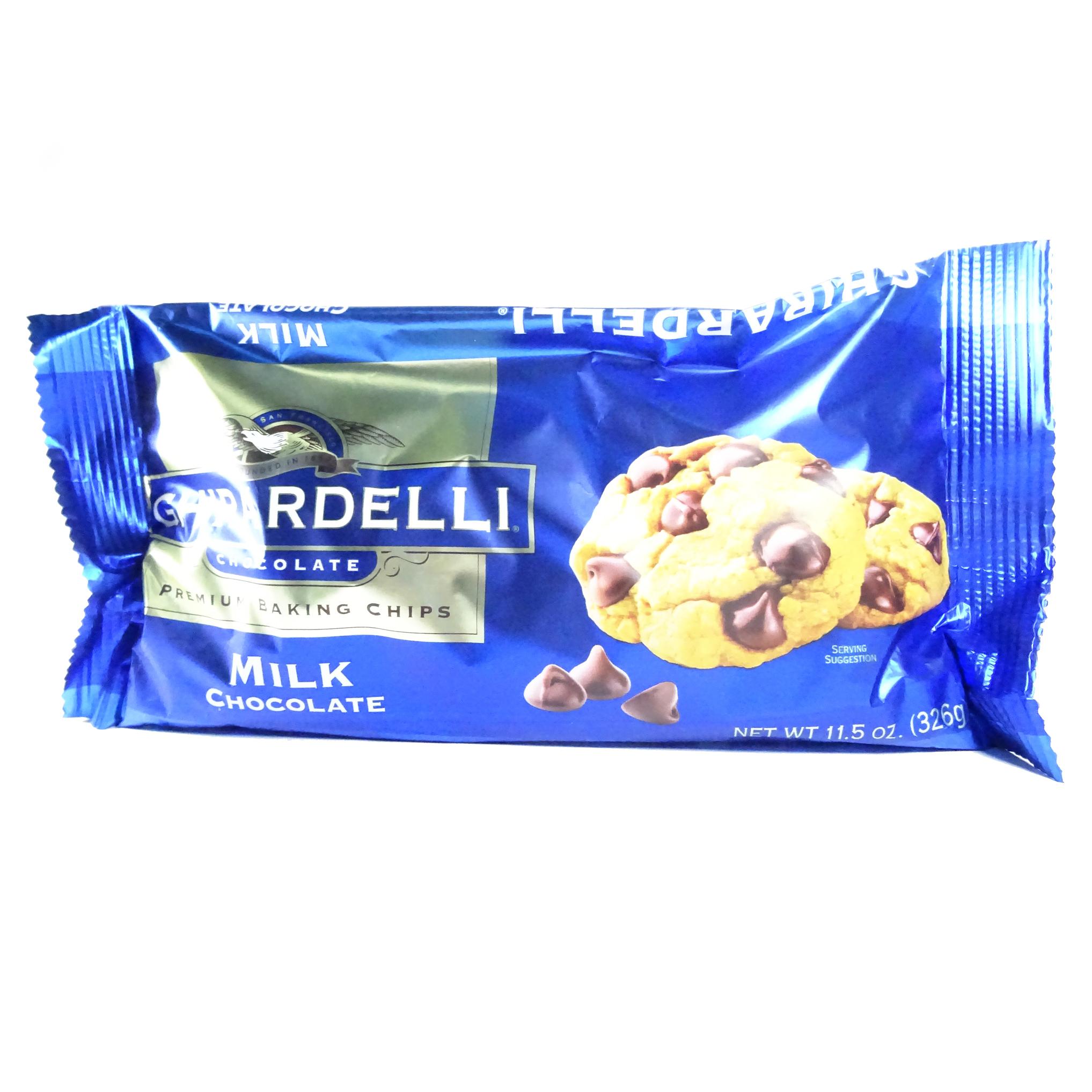 Ghirardelli milk chip 12 OZ (340g)