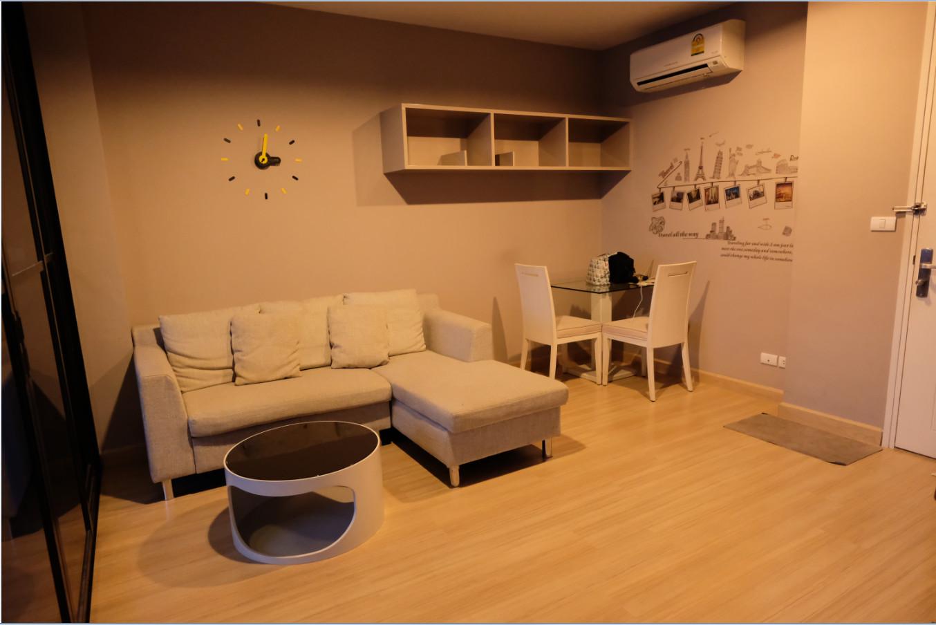 ให้เช่าคอนโด Life @ Ladprao 18 แบบ1ห้องนอน พร้อมอยู่ชั้นสูง