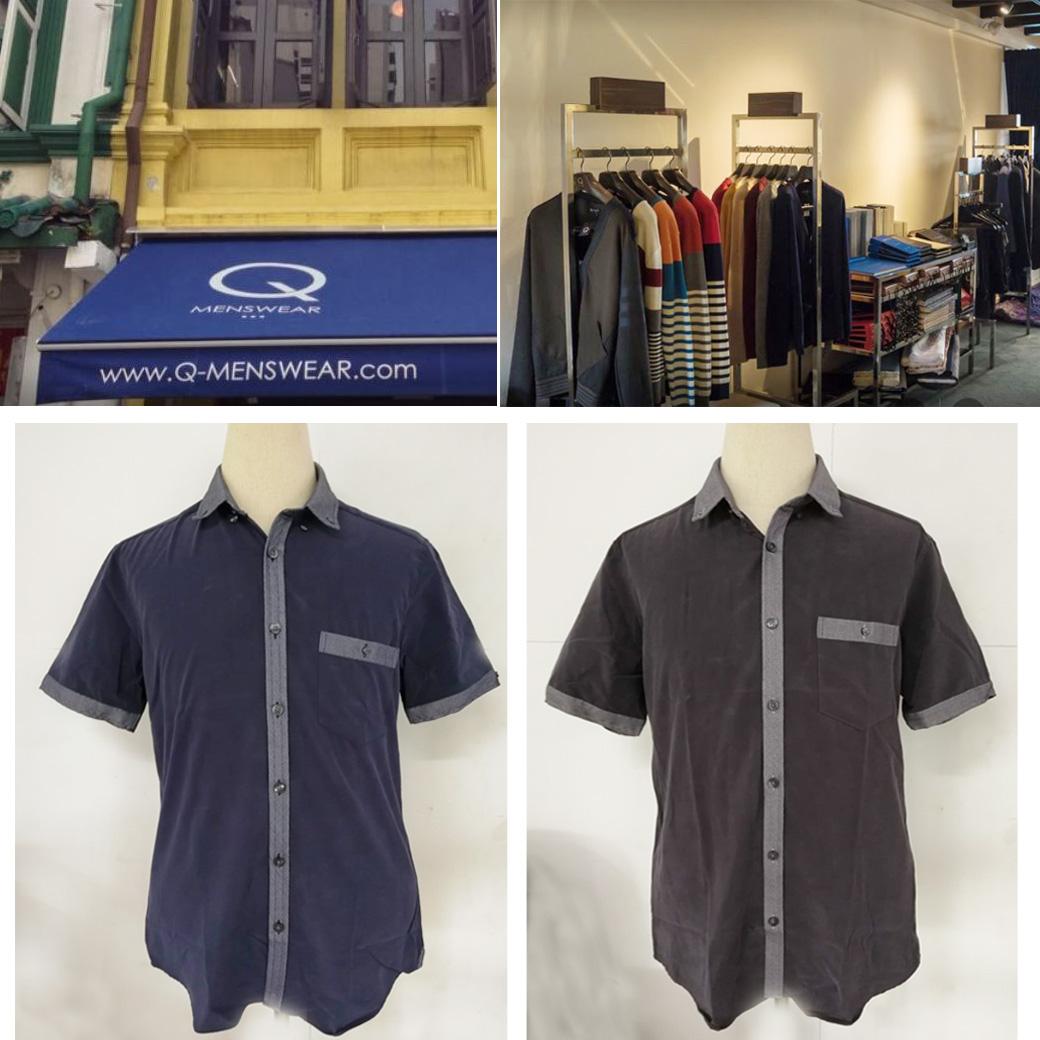 Q Menswear Short Sleeve Shirt