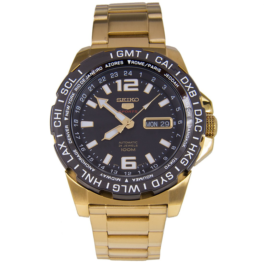 นาฬิกาผู้ชาย Seiko 5 Sports รุ่น SRP690K1 Automatic Men's Watch
