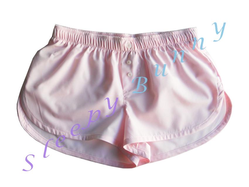 ขายแล้วค่ะ bx52 กางเกง boxer ผู้หญิง สีชมพูอ่อน พร้อมส่ง Size S --> Pajamazz