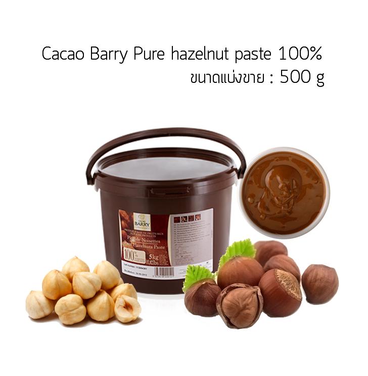 Cacao Barry Pure hazelnut paste 100% 500 g