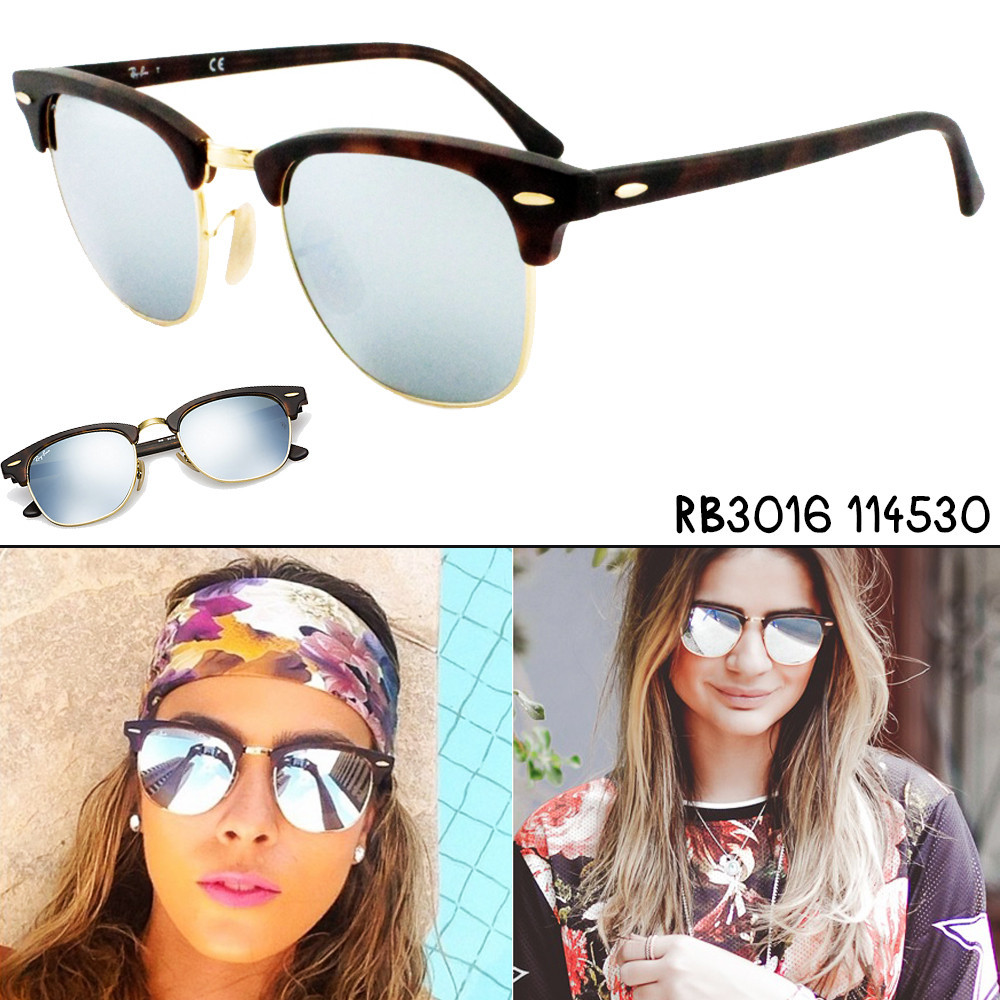 Ray-Ban RB 3016 Clubmaster 114530 JumOYpn6j