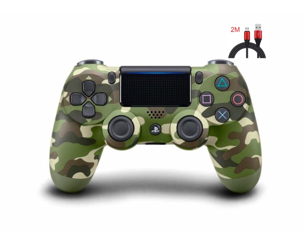 New PS4 Controller : Dual Shock 4 Green Camo