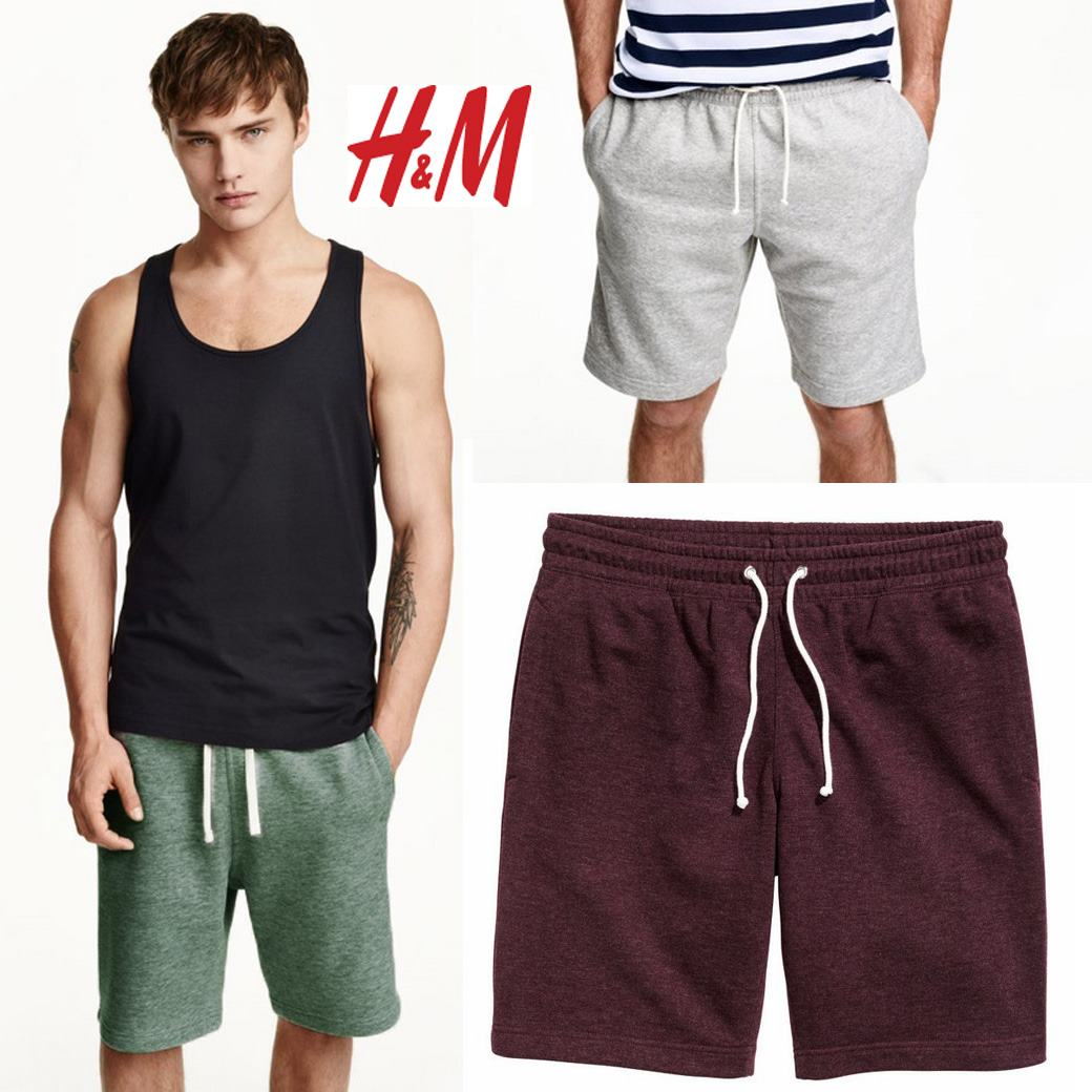 H&M SWEAT SHORTS