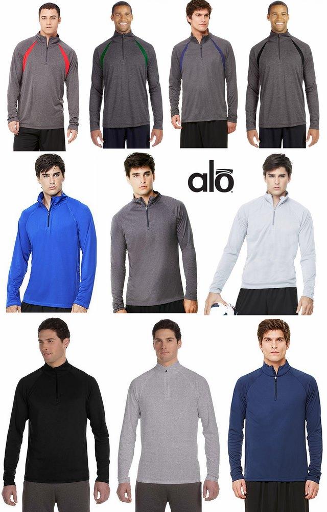 Alo Sport quarter-zip lightweight pullover