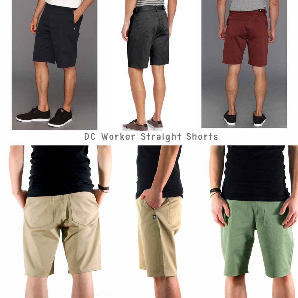 DC Straight Chino Shorts
