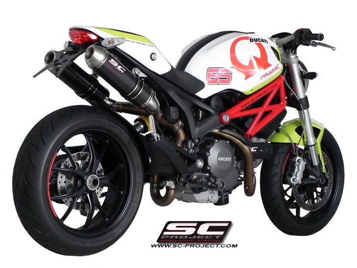 SC Project Ducati GP Evo for Monster 795/796