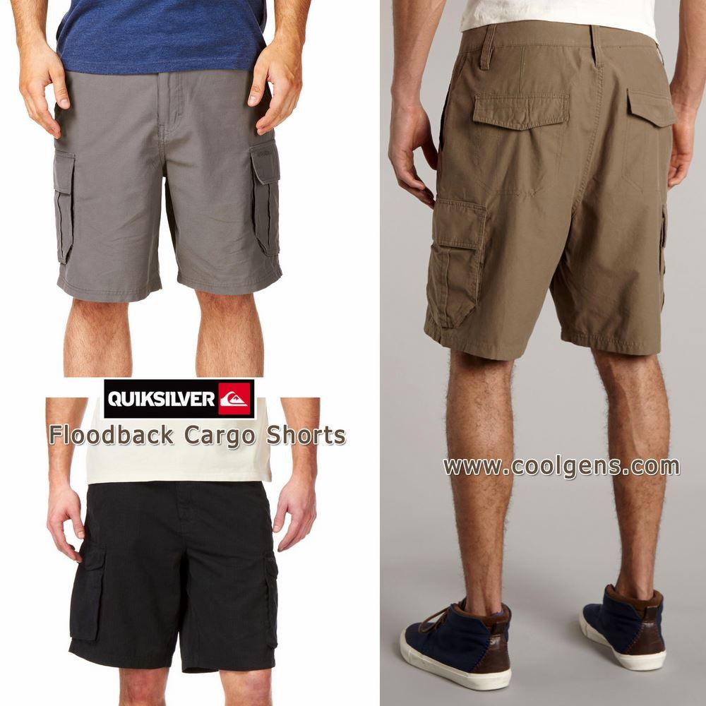 Quiksilver Floodback Cargo Shorts