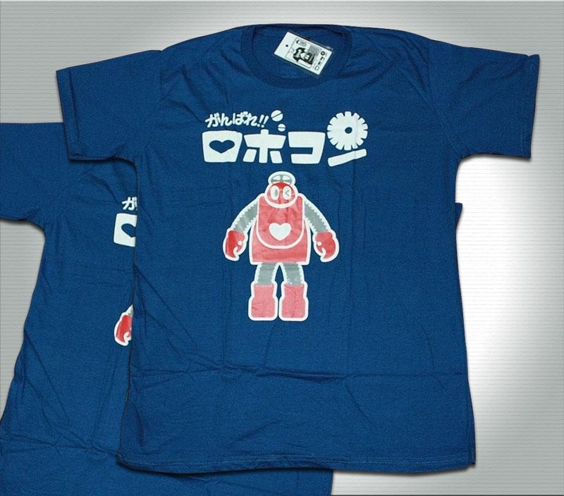 T-Shirt เสื้อยืดกันดั้ม โรโบคอนเจ้าหุ่นจอมยุ่ง (Zaku II) สุดเท่ห์ สีน้ำเงิน จากร้าน GUNZU !!โปรโมชั่น
