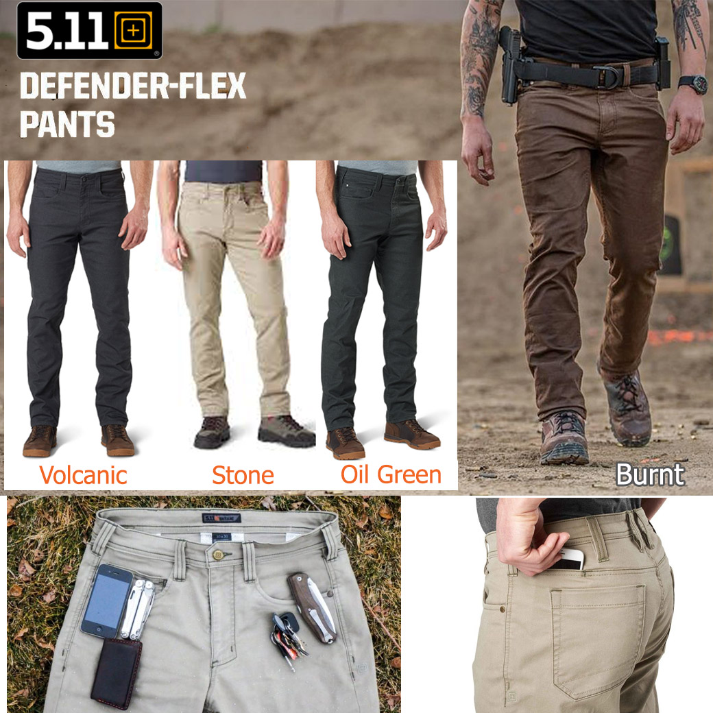 5.11 Defender Flex Pant ( Slim & Straight Fit )