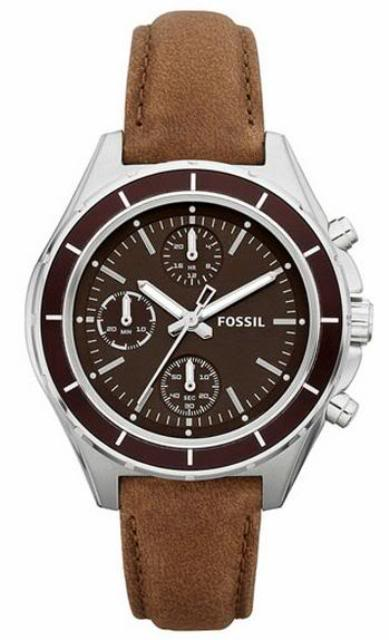Fossil Women's CH2829 Dylan Tan Leather