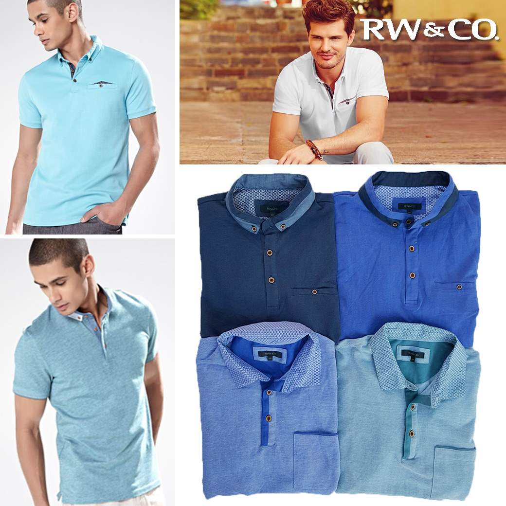 RW & CO ESSENTIAL POLO