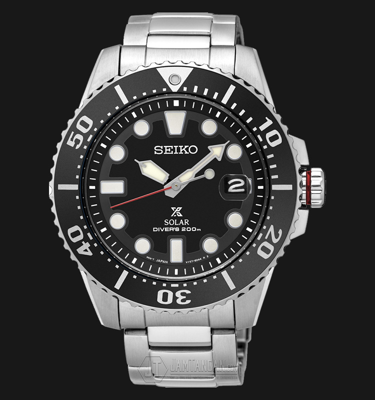 นาฬิกาผู้ชาย Seiko Prospex Solar 200m Divers รุ่น SNE437P1 (New Model 2017)