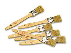 Matfer flat pastry brush wood 30 cm.116033