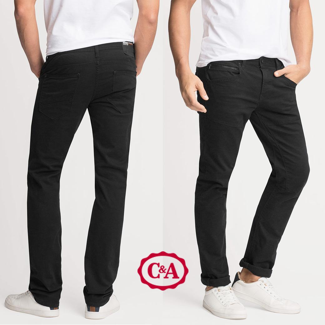 C & A Agelo Litirico Slim Fit Trouser