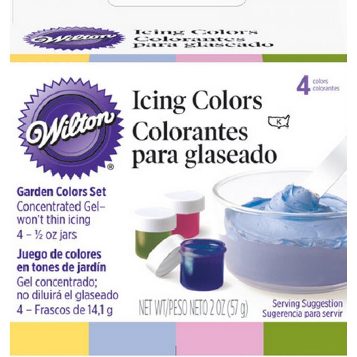 Wilton Garden Icing Color Set 4 Colors