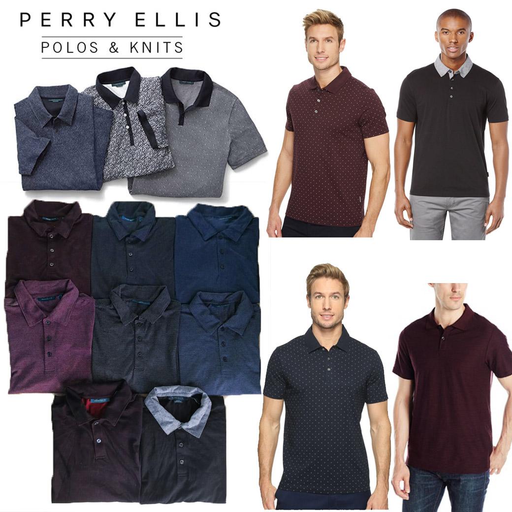 Perry Ellis Soft Texture Polo