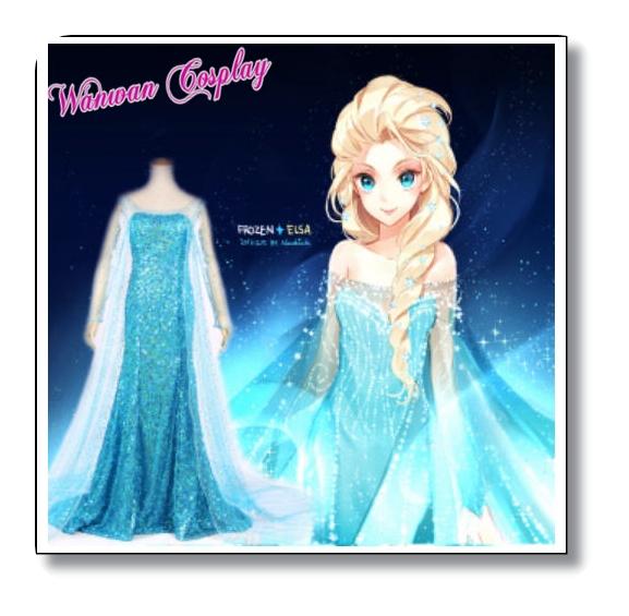 ชุดเจ้าหญิงเอลซ่า Frozen ชุดเจ้าชาย ชุดเทพนิยาย ชุดแม่มด ให้เช่าราคาถูกสุดๆ