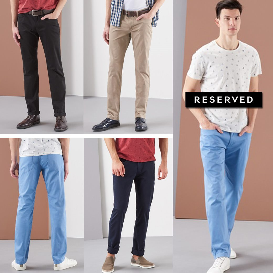 RESERVED REGULAR FIT TROUSER